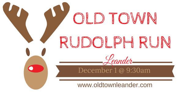 OLD TOWN RUDOLPH RUN Banner