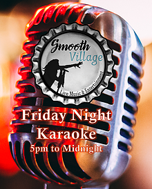 Smooth Village Friday Karaoke Mic